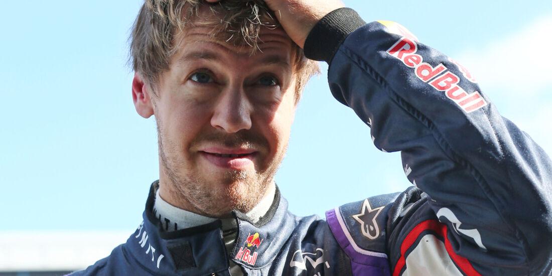 Sebastian Vettel - Red Bull - Formel 1 - Test - Jerez - 29. Januar 2014