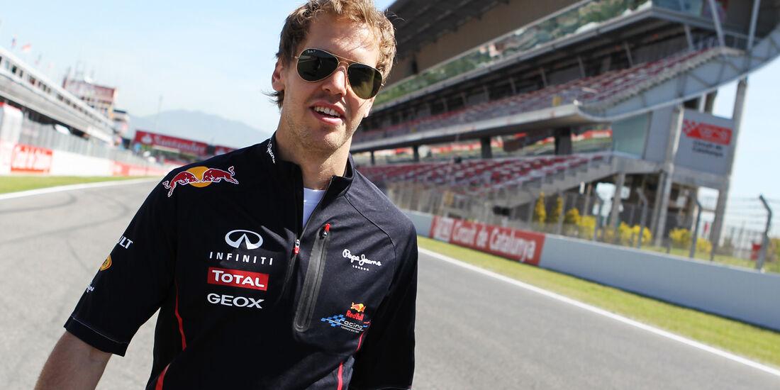 Sebastian Vettel - Red Bull - GP Spanien - 10. Mai 2012