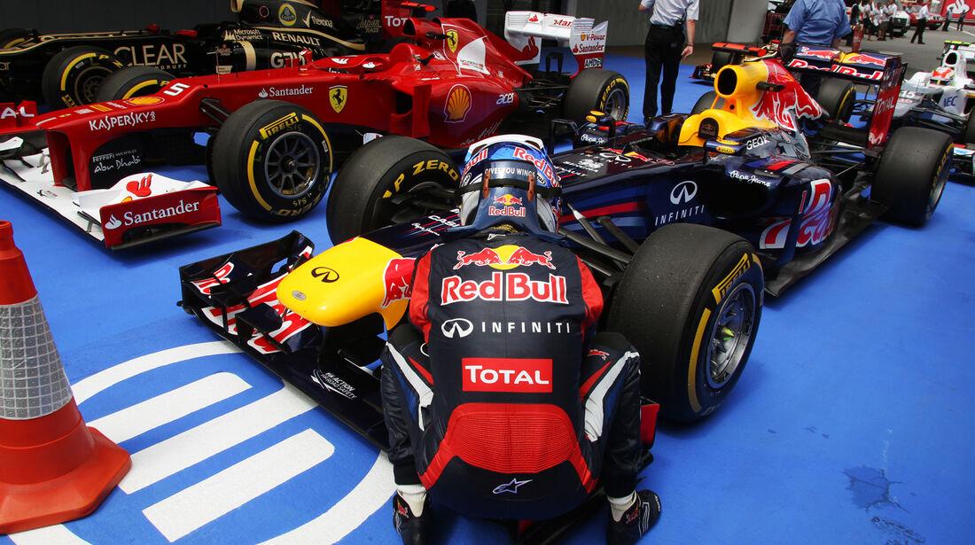 Sebastian Vettel - Red Bull - GP Spanien - 12. Mai 2012