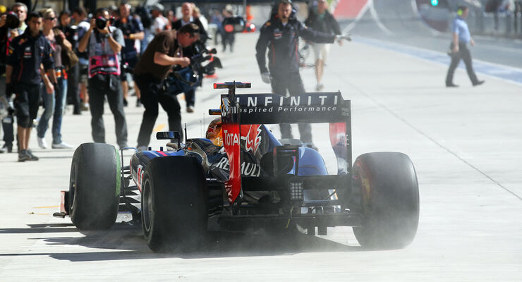 Sebastian Vettel Red Bull GP USA 2012