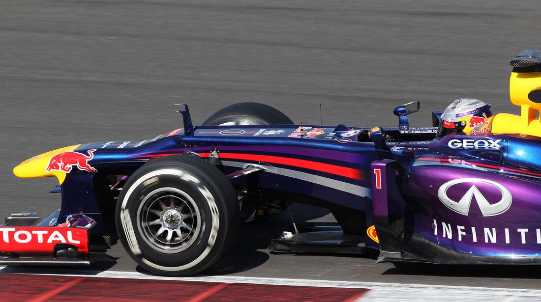 Sebastian Vettel - Red Bull - Young Drivers Test - Silverstone - 19. Juli 2013