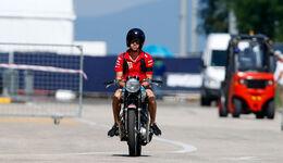 Sebastian Vettel - Triumph - Motorrad - GP Ungarn 2018