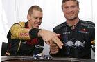 Sebastian Vettel und David Coulthard