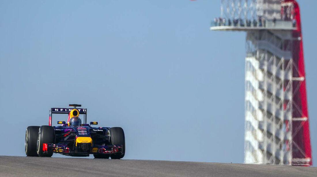 SebastianVettel - Formel 1 - GP USA - 1. November 2014