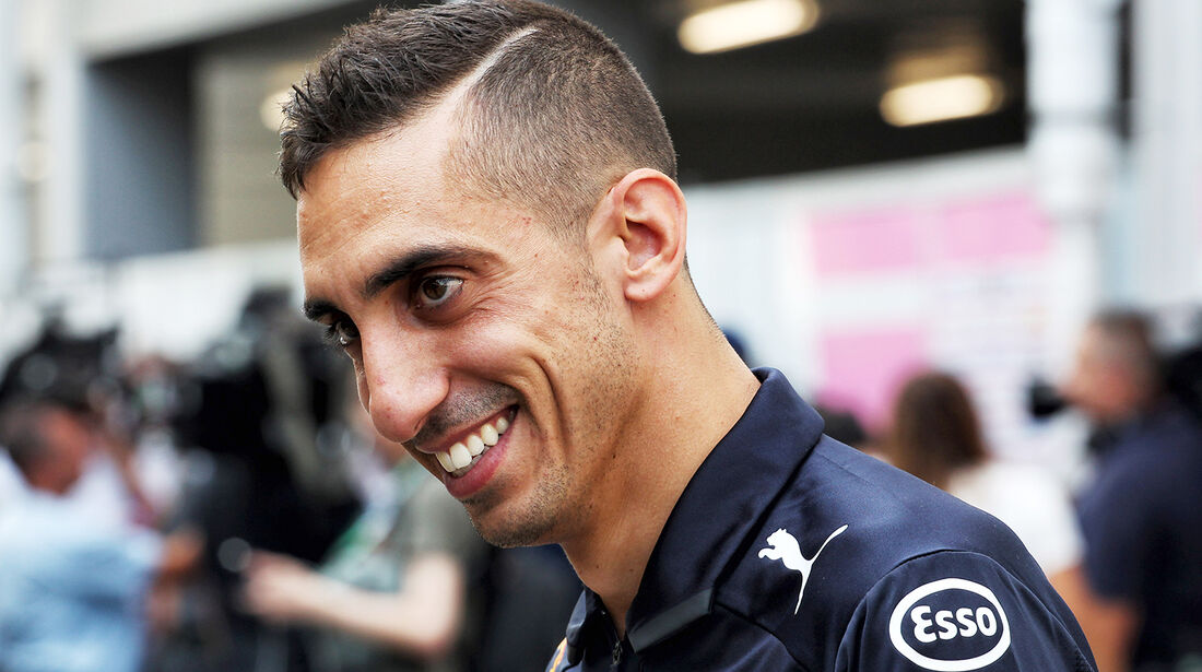 Sebastien Buemi - Red Bull - Formel 1 - GP Singapur - 13. September 2018