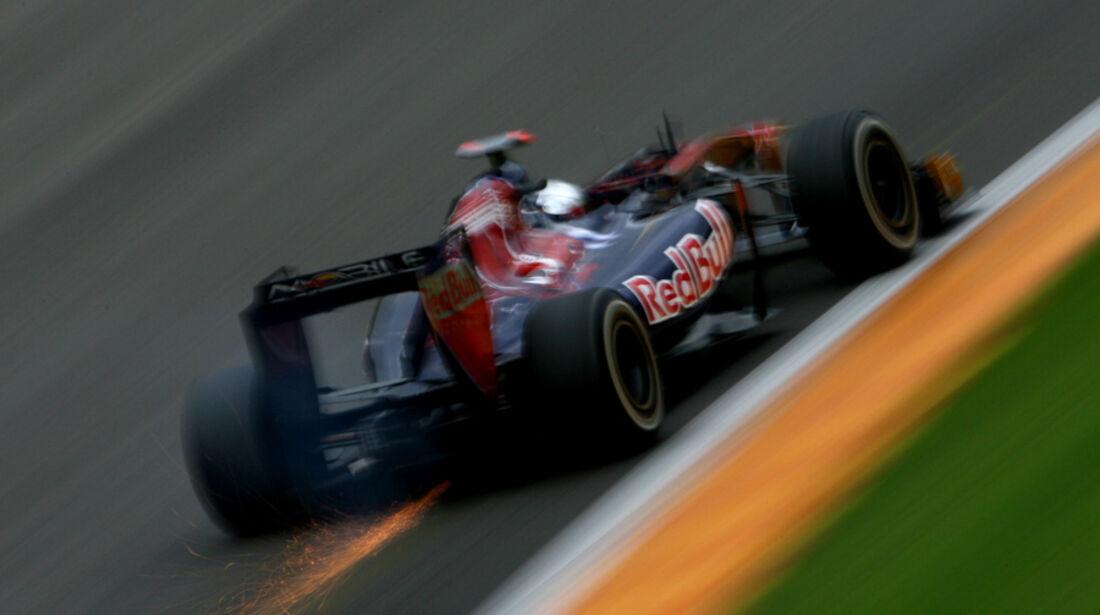 Sebastien Buemi Toro Rosso GP Belgien 2011