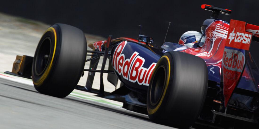 Sebastien Buemi Toro Rosso GP Italien 2011
