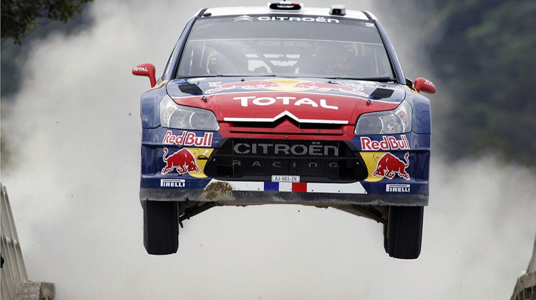 Sebastien Loeb, Rallye Neuseeland 2010, Rallye-Sprünge
