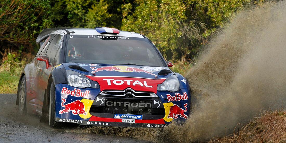 Sebastien Loeb Rallye Neuseeland 2012