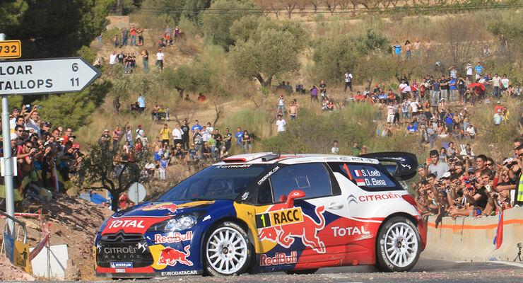 Sebastien Loeb Rallye Spanien 2011