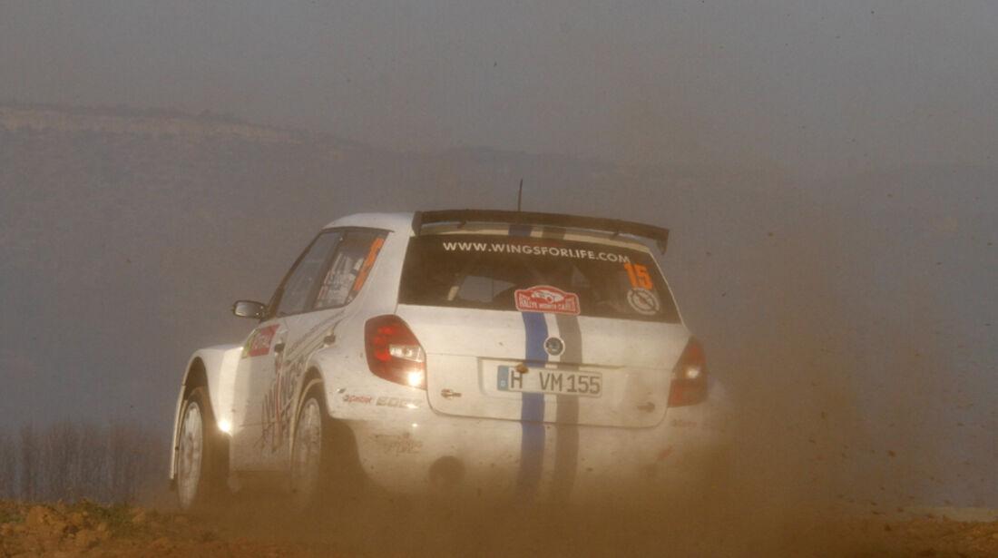 Sebastien Ogier Skoda VW Rallye Monte Carlo 2012