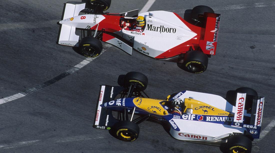 Senna vs. Hill - 1993