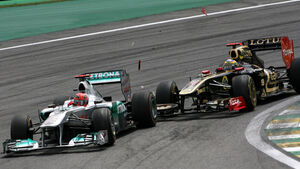 Senna vs. Schumacher GP Brasilien 2011