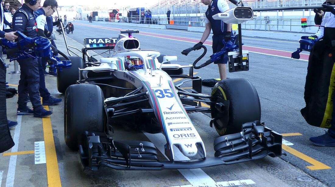 Sergey Sirotkin - Williams - F1-Test - Barcelona - Tag 5 - 6. März 2018