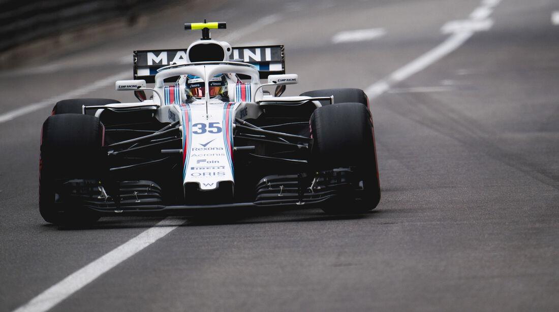 Sergey Sirotkin - Williams - GP Monaco - Formel 1 - Donnerstag - 24.5.2018