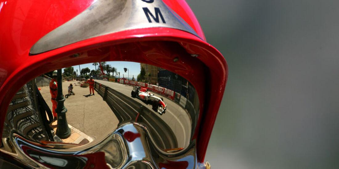Sergio Perez Crash GP Monaco 2011