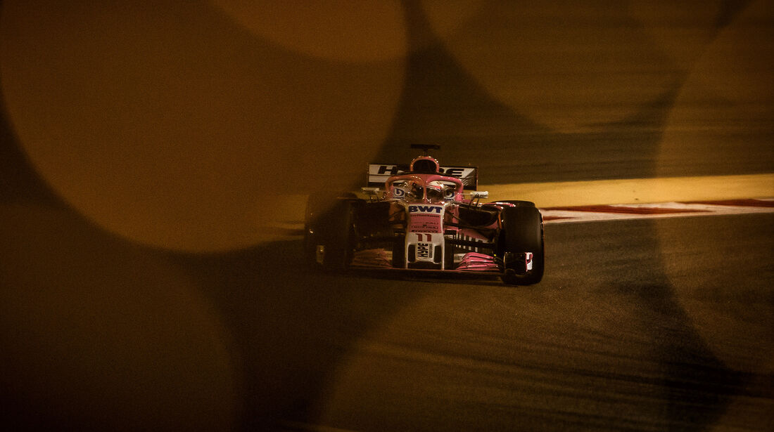 Sergio Perez - Force India - Formel 1 - GP Bahrain - 7. April 2018