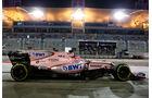 Sergio Perez - Force India - Formel 1 - GP Bahrain - Sakhir - Training - Freitag - 14.4.2017