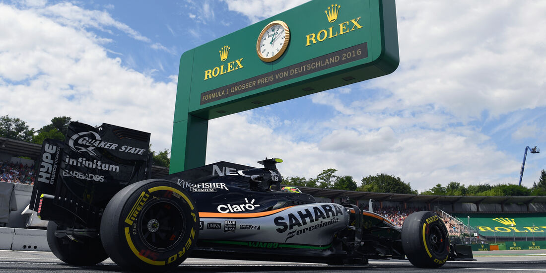 Sergio Perez - Force India - Formel 1 - GP Deutschland - 29. Juli 2016