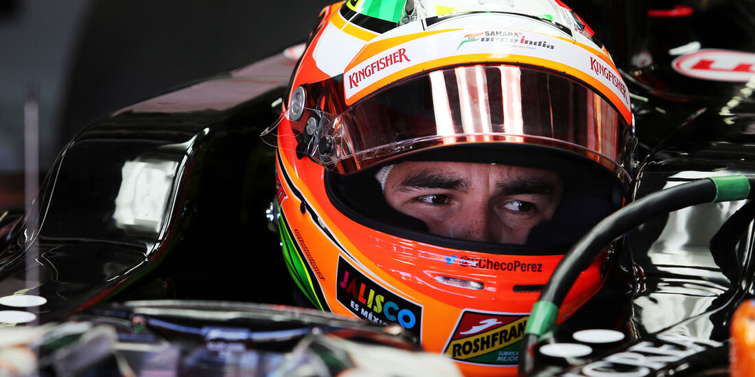 Sergio Perez - Force India - Formel 1 - GP Deutschland - Hockenheim - 18. Juli 2014