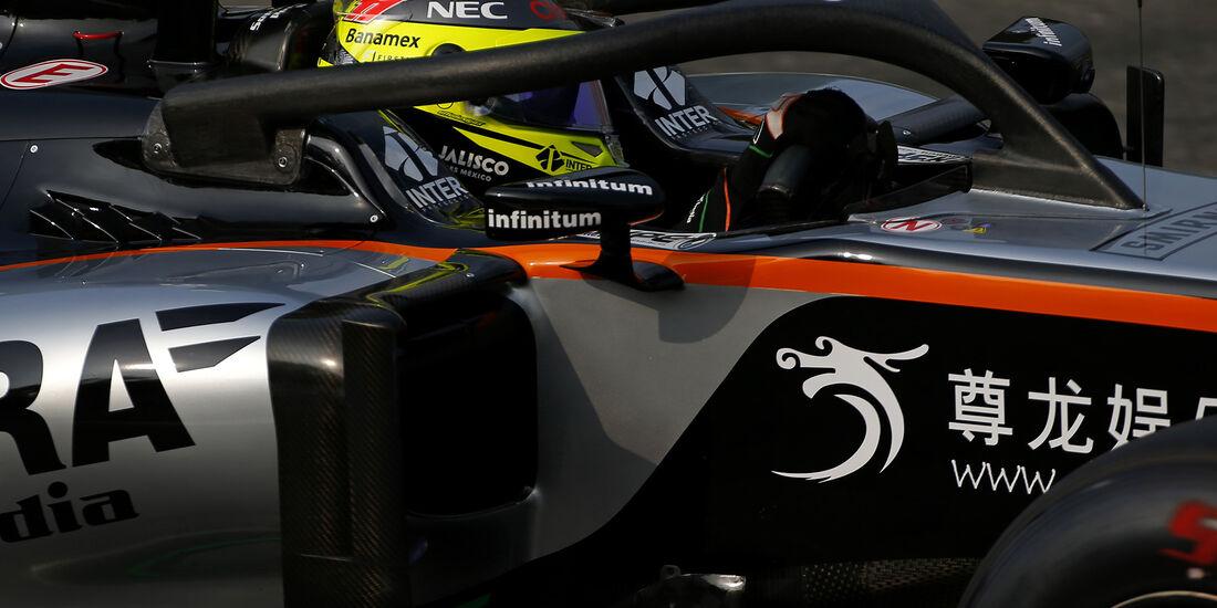 Sergio Perez - Force India - Formel 1 - GP Italien - Monza - 2. September 2016
