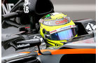 Sergio Perez - Force India - Formel 1 - GP Japan - Suzuka - Qualifying - Samstag - 8.10.2016