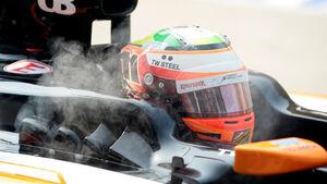 Sergio Perez - Force India - Formel 1 - GP Malaysia - Sepang - 28. März 2014