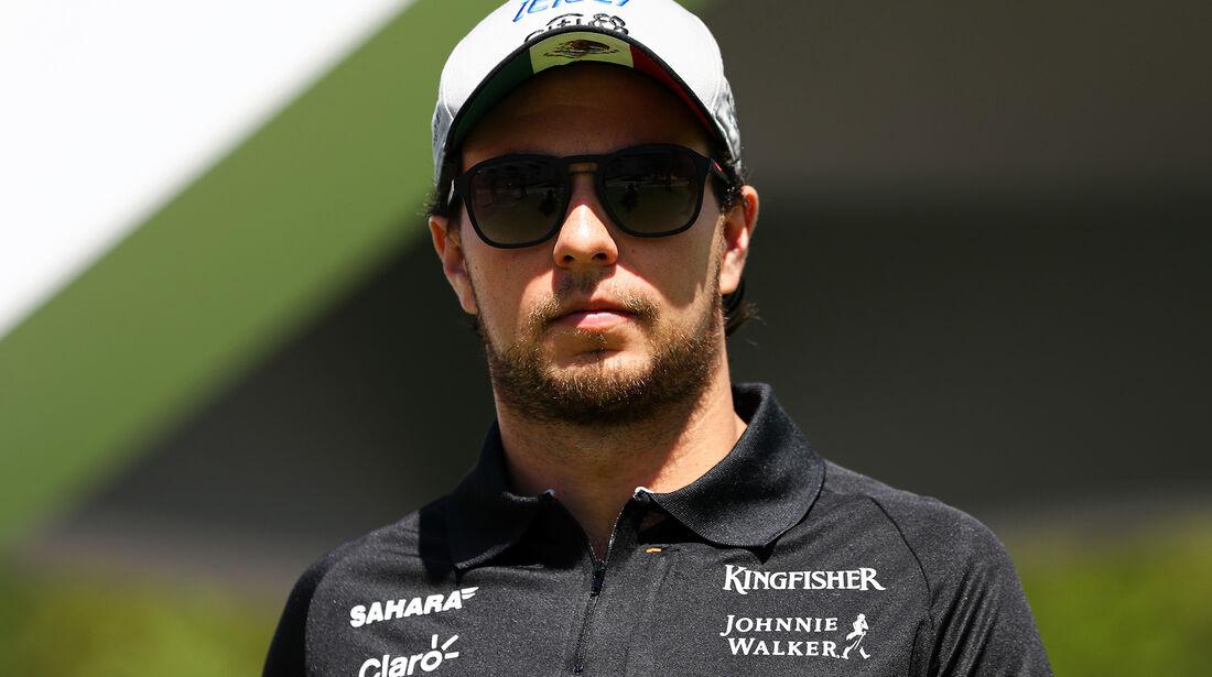 Sergio Perez - Force India - Formel 1 - GP Spanien - Barcelona - 11. Mai 2017