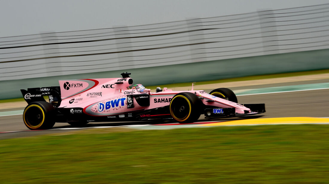 Sergio Perez - Force India -  GP China 2017 - Qualifying - 8.4.2017