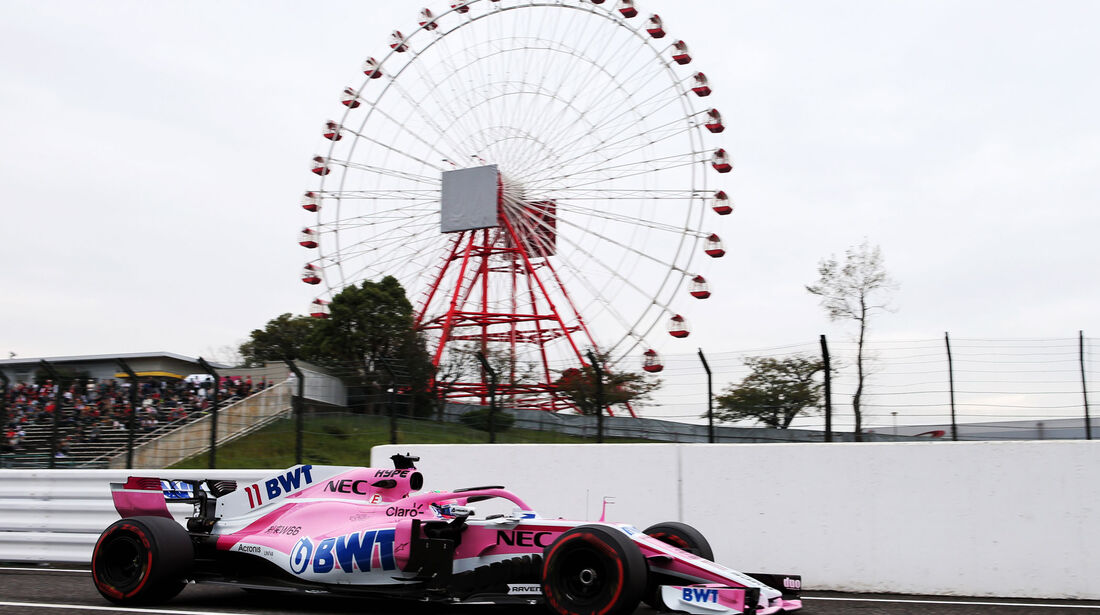 Sergio Perez - Force India - GP Japan - Suzuka - Formel 1 - Freitag - 5.10.2018