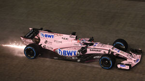 Sergio Perez - Force India - GP Singapur 2017 - Rennen