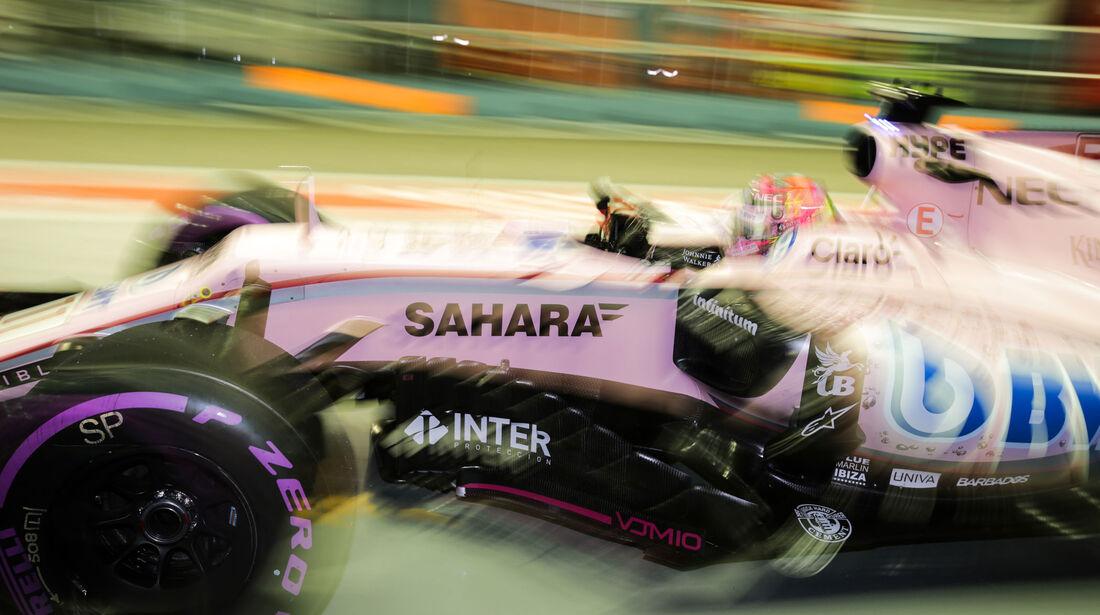 Sergio Perez - Force India - GP Singapur - Qualifying