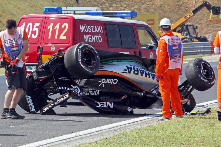 Sergio Perez - Force India - GP Ungarn - Budapest - Freitag - 24.7.2015