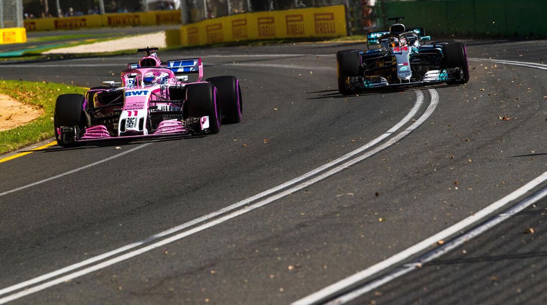 Sergio Perez - Force India - Qualifying - GP Australien 2018 - Melbourne
