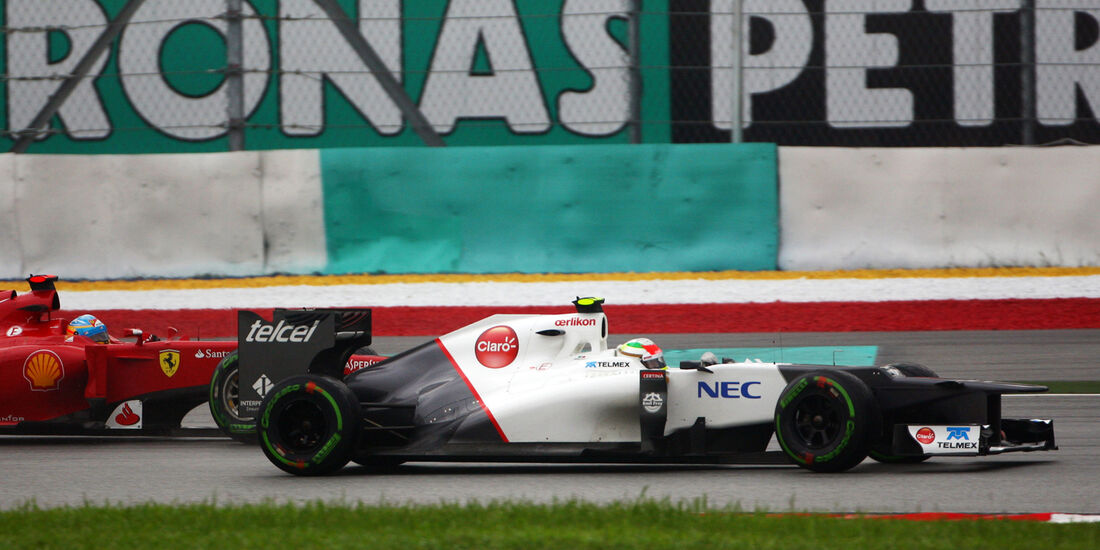 Sergio Perez Formel 1 2012