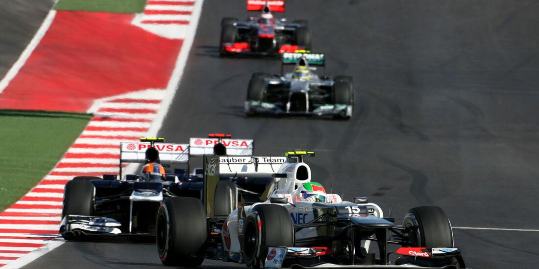 Sergio Perez Formel 1 Austin GP USA 2012
