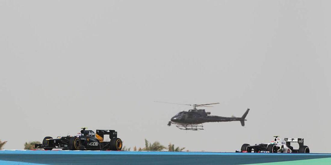 Sergio Perez  - Formel 1 - GP Bahrain - 22. April 2012