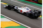Sergio Perez Formel 1 GP Brasilien 2012