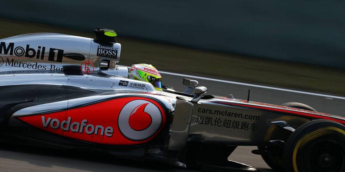Sergio Perez - Formel 1 - GP China -12. April 2013