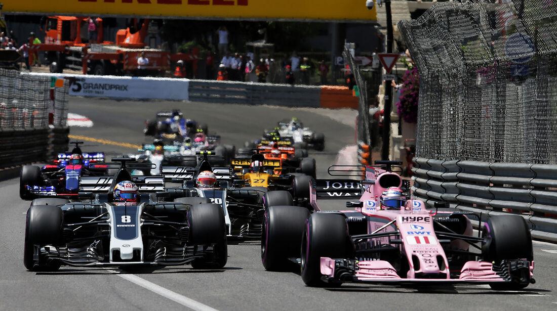 Sergio Perez - Formel 1 - GP Monaco 2017