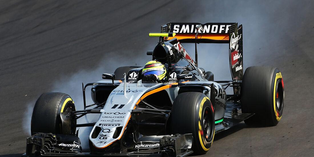 Sergio Perez - Formel 1 - GP Ungarn 2016
