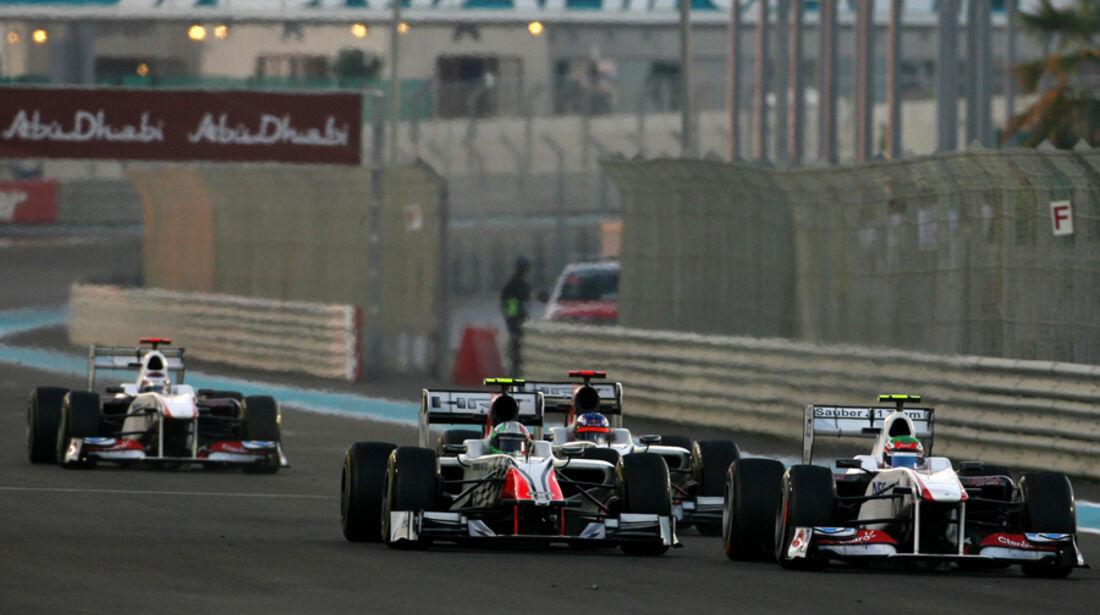 Sergio Perez GP Abu Dhabi 2011