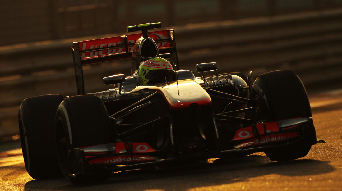 Sergio Perez - GP Abu Dhabi 2013