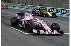 Sergio Perez - GP Abu Dhabi 2017