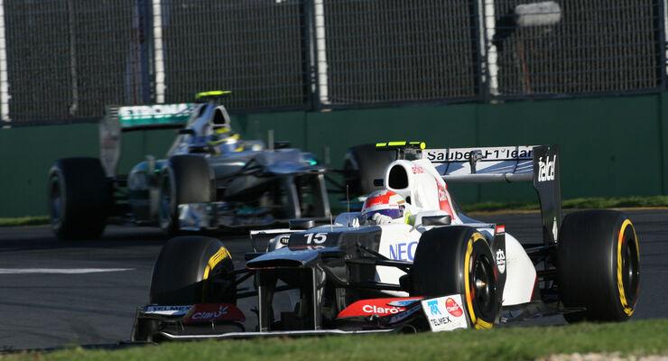 Sergio Perez GP Australien 2012