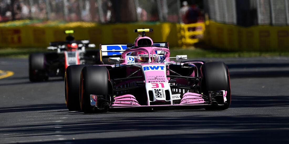 Sergio Perez - GP Australien 2018