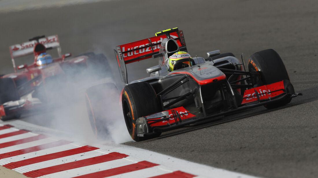 Sergio Perez - GP Bahrain 2013