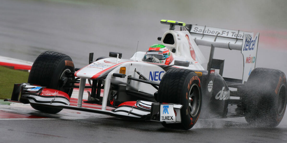 Sergio Perez GP England 2011