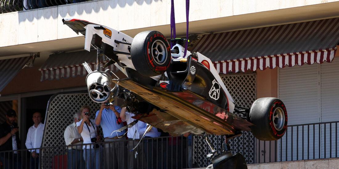 Sergio Perez - GP Monaco 2011