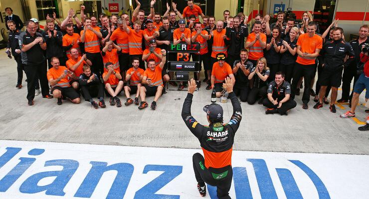 Sergio Perez - GP Russland 2015